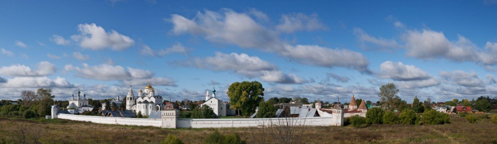 Вид города Суздаль